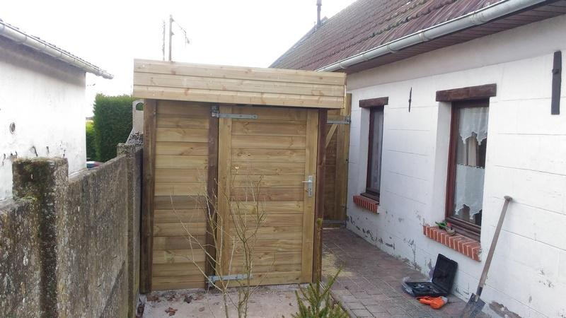 abri de jardin sur mesure valenciennes style bois. Black Bedroom Furniture Sets. Home Design Ideas