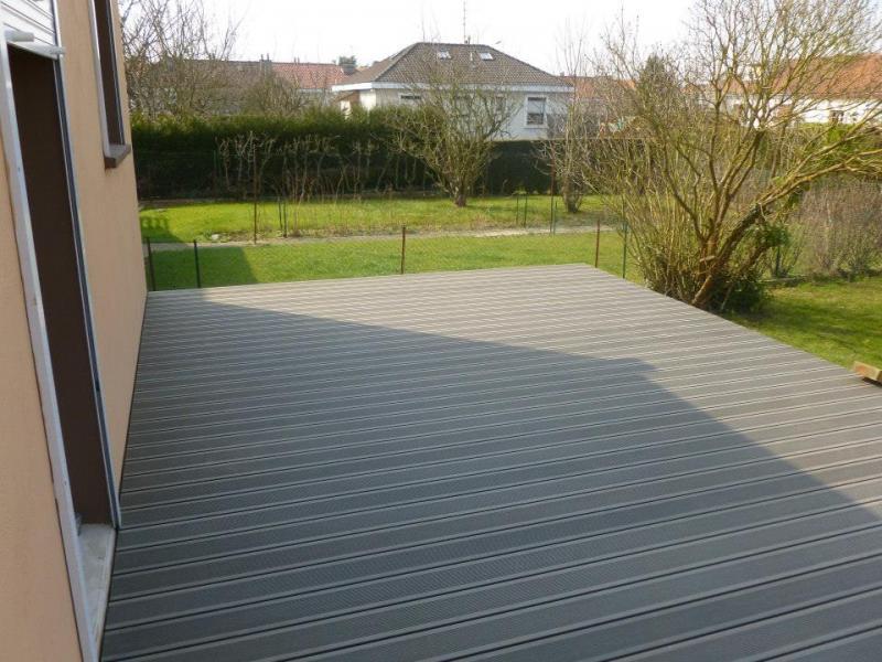 Terrasse composite sur pilotis - Style & Bois à Fresne sur Escaut