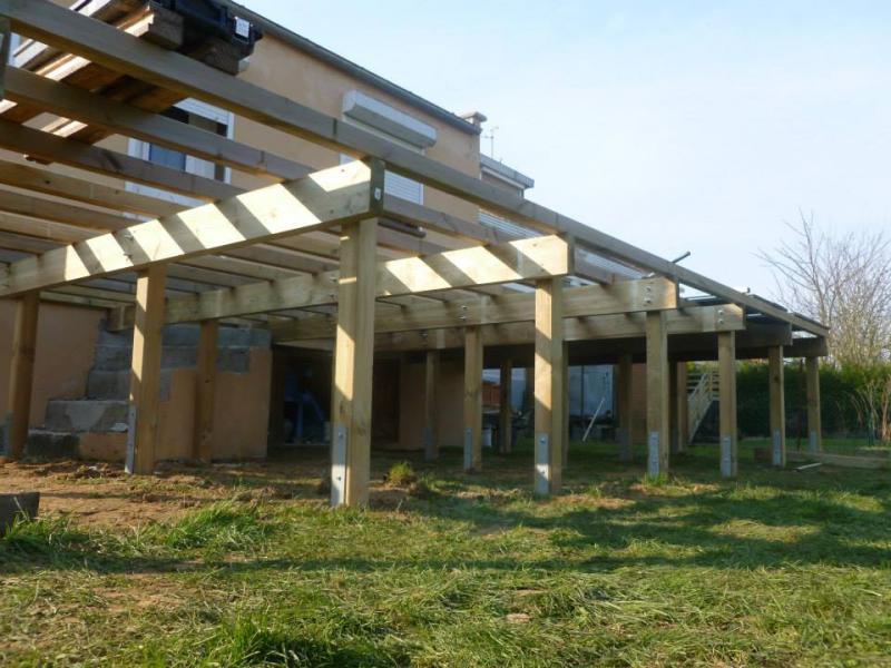 terrasse composite sur pilotis création d une terrasse composite sur